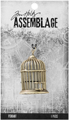 Birdcage - Tim Holtz Assemblage Pendant