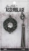 Adorned Bijou Tassel - Tim Holtz Assemblage Charms 2/Pkg