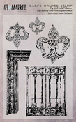 """Gabi's Ornate - 49 And Market Clear Stamps 4""""X6"""""""