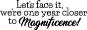 Closer To Magnificence - Art Impressions Girlfriends Cling Rubber Stamp