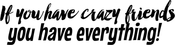 You Have Everything - Art Impressions Girlfriends Cling Rubber Stamp