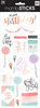 Spoil Yourself Today - Me & My Big Ideas Specialty Stickers The perfect addition to all your paper crafting projects! This package contains an assortment of stickers on one 5x12 inch sheet. Comes in a variety of designs. Each sold separately. Imported.