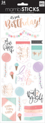 Spoil Yourself Today - Me & My Big Ideas Specialty Stickers