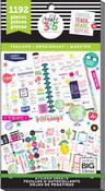 Teacher, 1192/Pkg - Happy Planner Sticker Value Pack