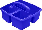 "Blue - Storex Small Caddy 9.25""X9.25""X5.25"""