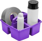 "Purple - Storex Small Caddy 9.25""X9.25""X5.25"""