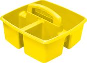 "Yellow - Storex Small Caddy 9.25""X9.25""X5.25"""