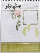 Botanical - Heidi Swapp Storyline2 Journaling Stickers