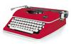 Red Typewriter - Typecast - WeR