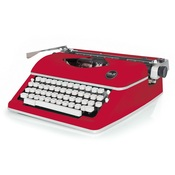 Red Typewriter - Typecast - WeR