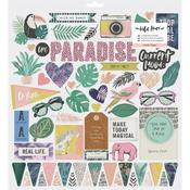 Wild Heart Chipboard Stickers - Crate Paper