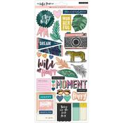 Wild Heart Cardstock Stickers - Crate Paper
