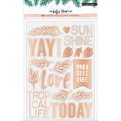 Wild Heart Clear Stickers - Crate Paper