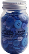Open Seas - Buttons Galore Button Mason Jars