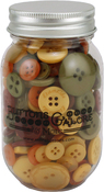 Harvest - Buttons Galore Button Mason Jars