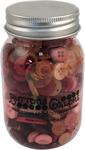 Valentine - Buttons Galore Button Mason Jars