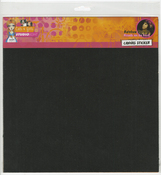 Black Self Adhesive Sheets 2/Pkg - Studio Light Mixed Media Rainbow Designs Canvas Sticker