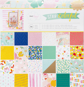 Stay Colorful 12 x 12 Paper Pad - Dear Lizzy