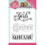 Sweet Girls - Find It Trading Yvonne Creations Clear Stamps
