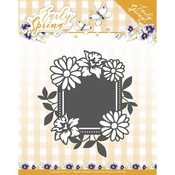 Spring Flowers Square Label - Find It Trading Precious Marieke Early Spring Die