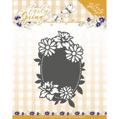 Spring Flowers Oval Label - Find It Trading Precious Marieke Early Spring Die