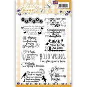 Find It Precious Marieke Early Spring Clear Text Stamps