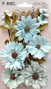 Blue - 49 And Market Vintage Shades Botanical Blends 23/Pkg