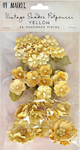 Yellow - 49 And Market Vintage Shades Potpourri 49/Pkg