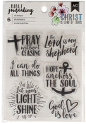 God Is Love - American Crafts Bible Journaling Clear Acrylic Stamps
