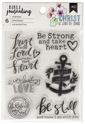 Trust In The Lord - American Crafts Bible Journaling Clear Acrylic Stamps