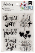 Shield - American Crafts Bible Journaling Clear Acrylic Stamps
