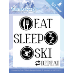 Wintersports - Find It Trading Jeanine's Art Clear Stamp
