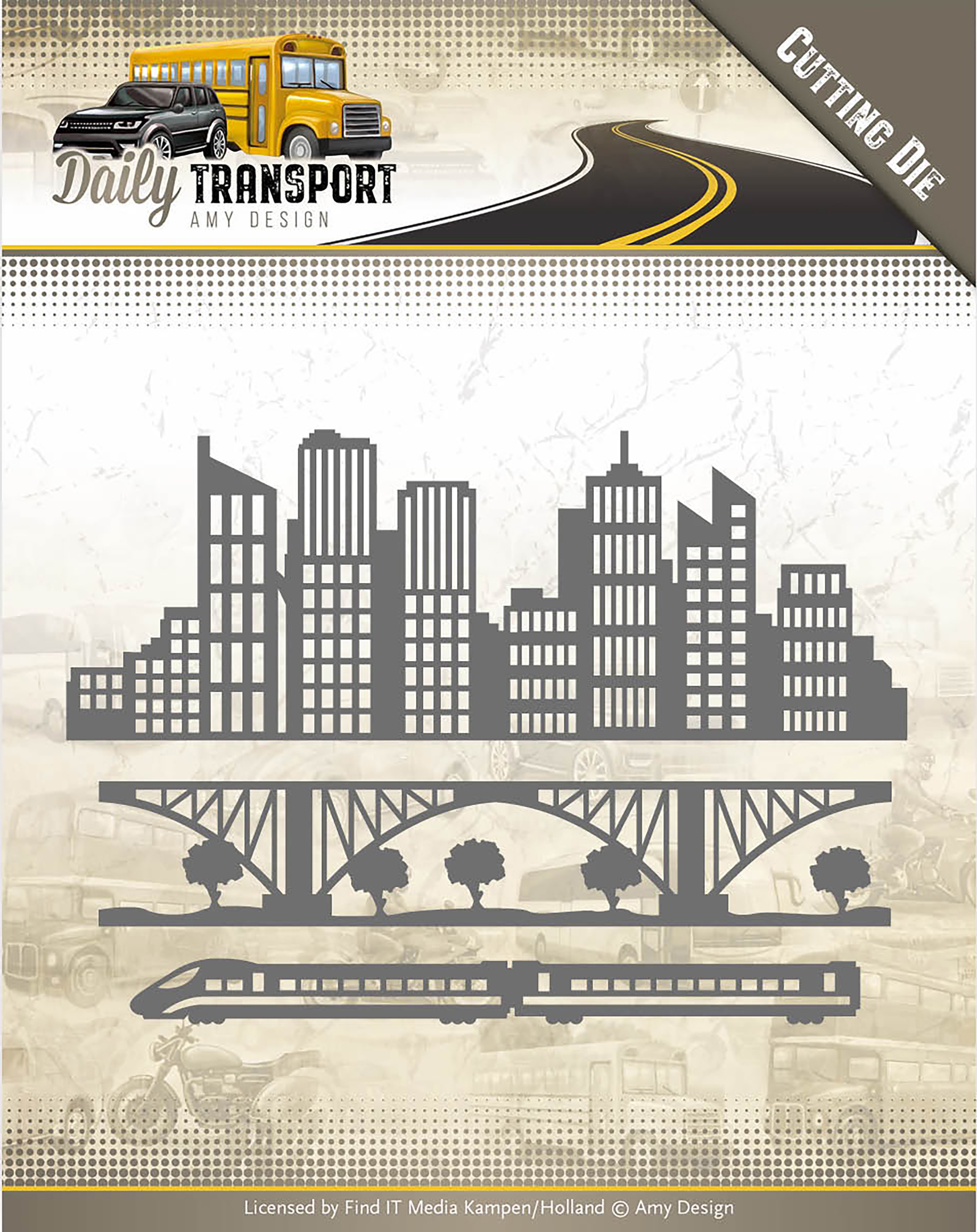 In The City - Find It Trading Amy Design Daily Transport Die