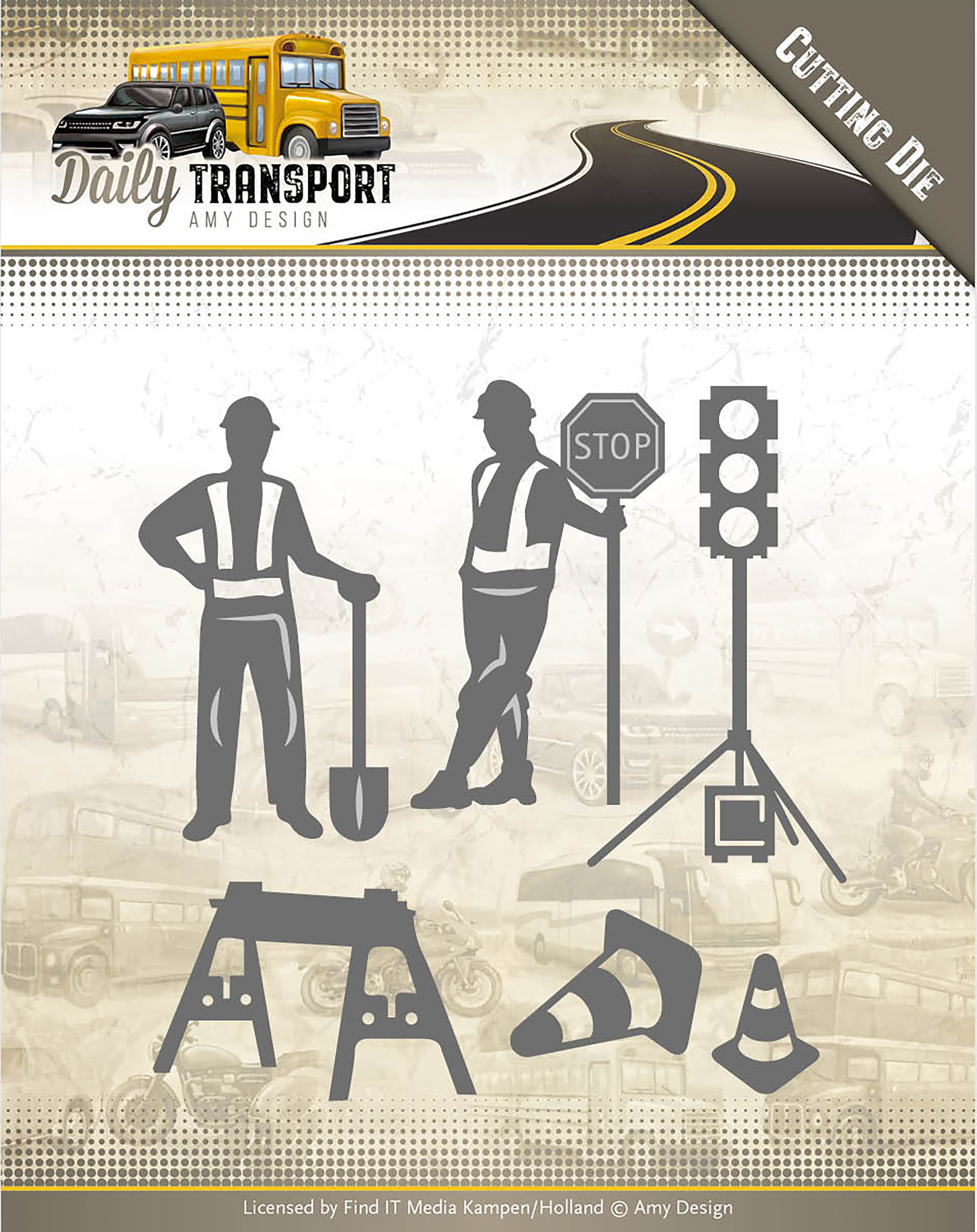 Road Construction - Find It Trading Amy Design Daily Transport Die