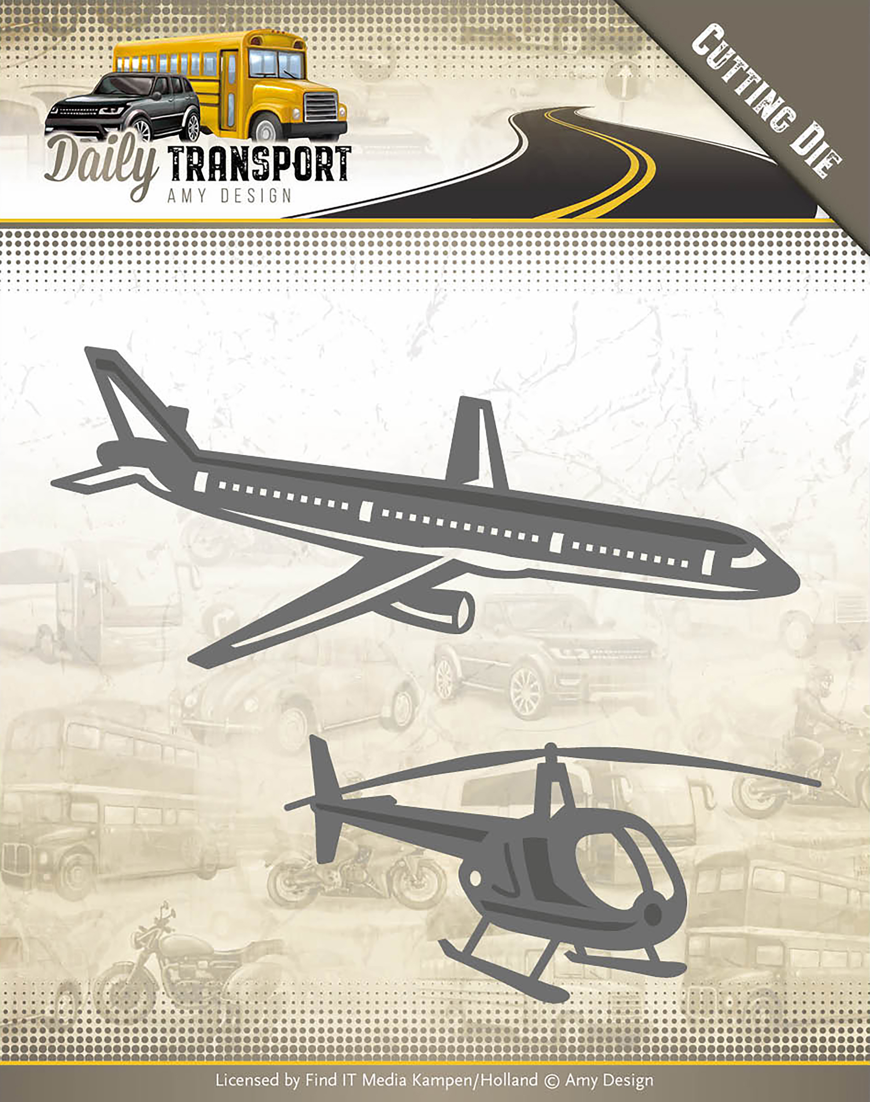 Through The Air - Find It Trading Amy Design Daily Transport Die
