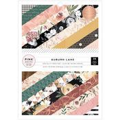 Auburn Lane Single Sided 6 x 8 Paper Pad - Pink Paislee
