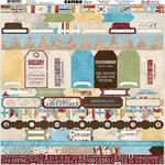 Combo Stickers - World Traveler - Bo Bunny - PRE ORDER