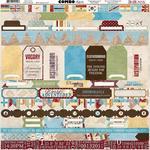 Combo Stickers - World Traveler - Bo Bunny