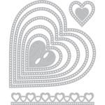 Dotted Hearts - Sizzix