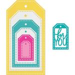 Dotted Tags - Sizzix
