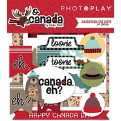 O Canada Cardstock Ephemera - Photoplay