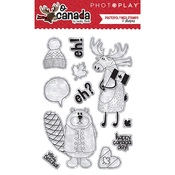 O Canada Clear Stamps Element - Photoplay