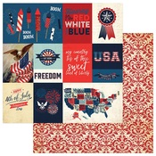 Rockets Red Glare Paper - Red White & Blue - Photoplay