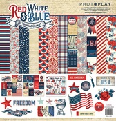 Red White & Blue Collection Pack - Photoplay