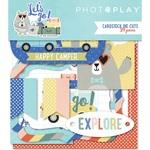 Lets Go Cardstock Ephemera - Photoplay