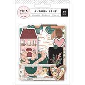 Auburn Lane Ephemera - Pink Paislee