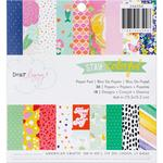 Stay Colorful 6 x 6 Paper Pad - Dear Lizzy
