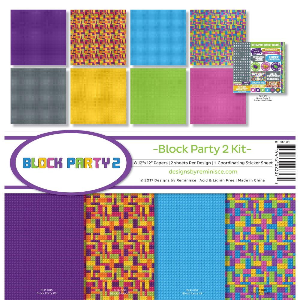 Block Party 2 Collection Kit - Reminisce