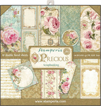 "Precious Gift - Stamperia Double-Sided Paper Pad 12""X12"" 10/Pkg"