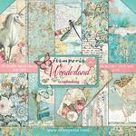 "Wonderland - Stamperia Double-Sided Paper Pad 12""X12"" 10/Pkg"